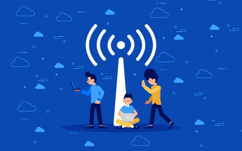 Layanan Internet Broadband untuk pengguna rumahan dan SOHO.