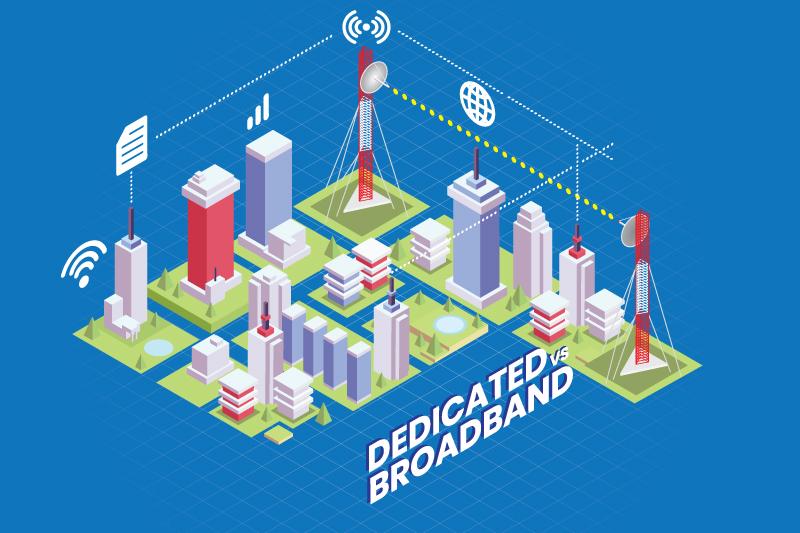 Layanan Internet Khusus dan Layanan Internet Broadband.